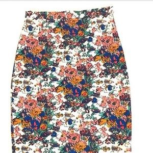 Plenty by Tracy Reese Floral Pencil Skirt M4